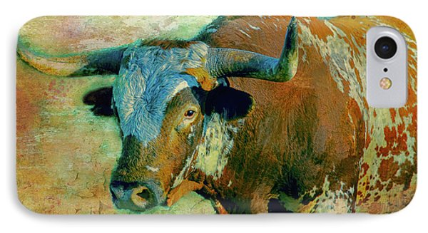 Hook 'em 1 IPhone Case by Colleen Taylor