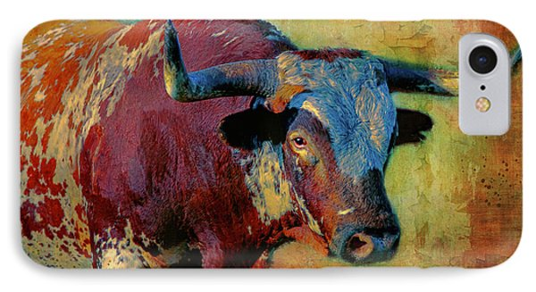 Hook 'em 2 IPhone Case by Colleen Taylor