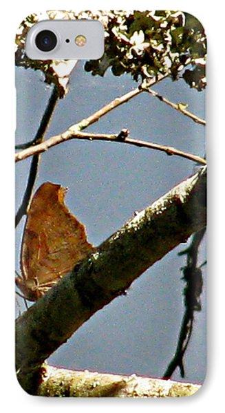 Hook Winged Butterfly Phone Case by Debra     Vatalaro