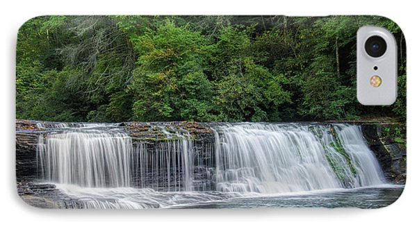 IPhone Case featuring the photograph Hooker Falls by Steven Richardson