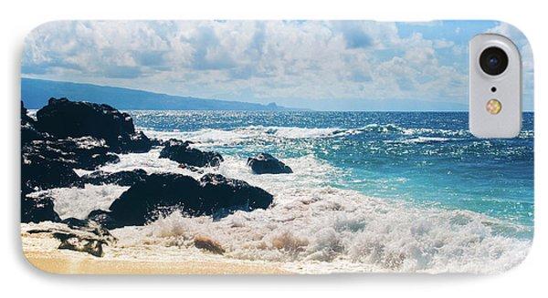 Hookipa Beach Maui Hawaii IPhone Case by Sharon Mau