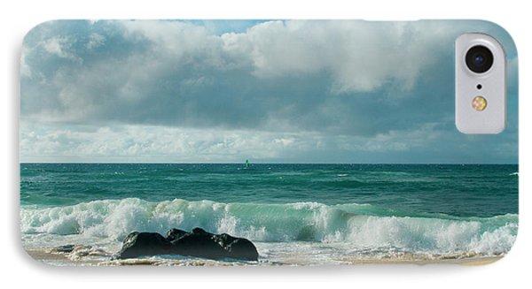 IPhone Case featuring the photograph Hookipa Beach Pacific Ocean Waves Maui Hawaii by Sharon Mau