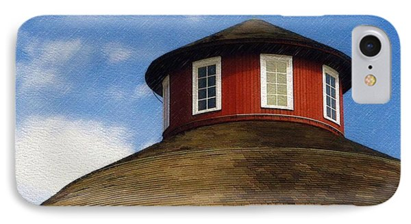 IPhone Case featuring the photograph Hoosier Cupola by Sandy MacGowan
