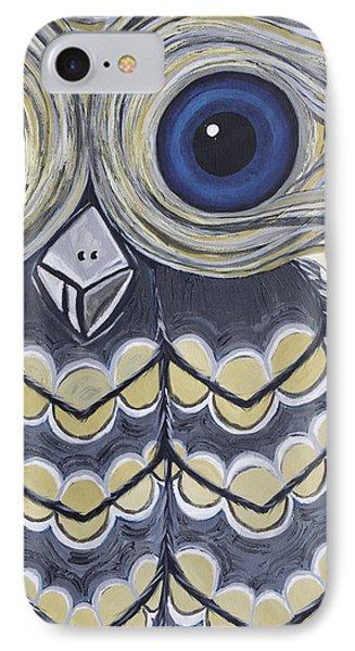 Hoot Hoot IPhone Case by Sarah  Jewett