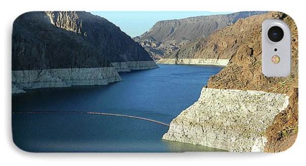 IPhone Case featuring the photograph Hoover Dam In May by Emmy Marie Vickers
