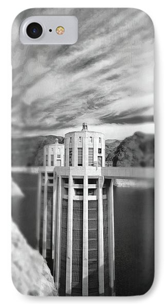 Hoover Dam Intake Towers No. 1-1 IPhone Case