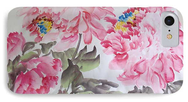 IPhone Case featuring the painting Hop08012015-692 by Dongling Sun