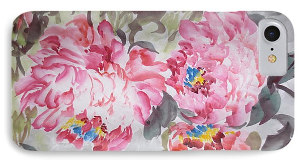 IPhone Case featuring the painting Hop08012015-693 by Dongling Sun