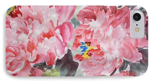 IPhone Case featuring the painting Hop08012015-694 by Dongling Sun
