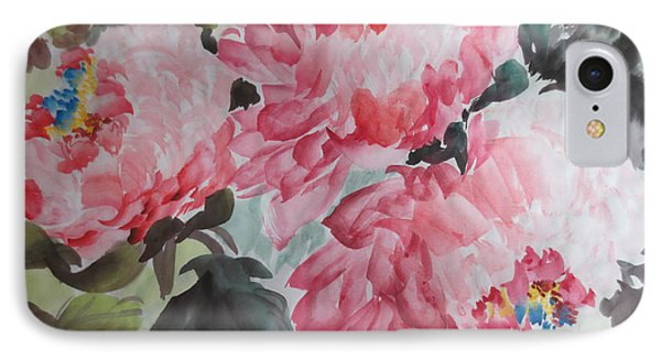 IPhone Case featuring the painting Hop08012015-695 by Dongling Sun