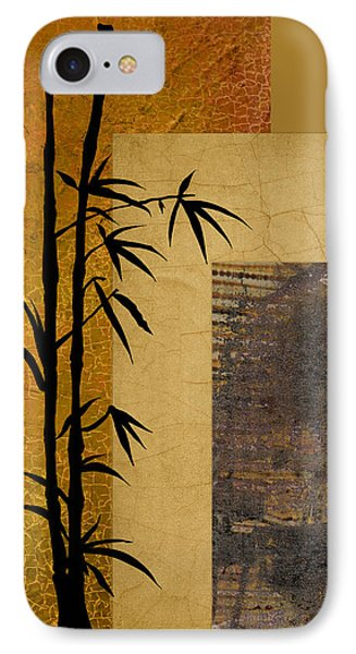 IPhone Case featuring the digital art Hope And Bamboo by Nola Lee Kelsey
