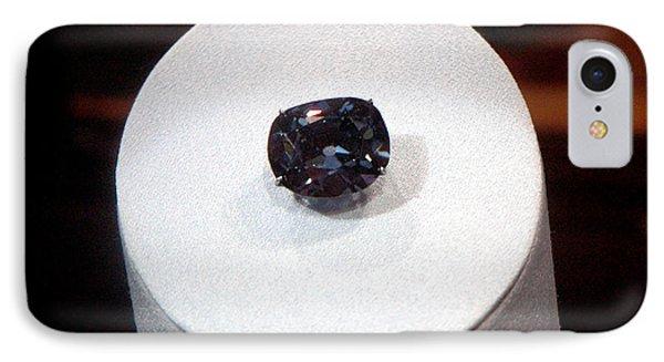 Hope Diamond 45.52 Carats Phone Case by LeeAnn McLaneGoetz McLaneGoetzStudioLLCcom