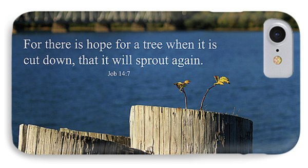 Hope For A Tree Phone Case by James Eddy