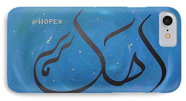 Hope In Blue IPhone Case