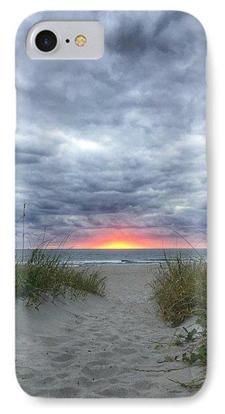 Hope On The Horizon Delray Beach Florida  IPhone Case