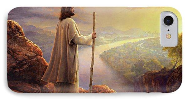 Jesus iPhone 7 Case - Hope On The Horizon by Greg Olsen