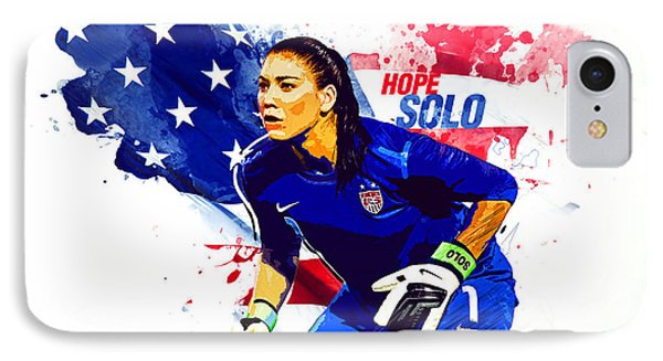 Hope Solo IPhone 7 Case