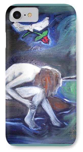 IPhone Case featuring the painting Hope  by Winsome Gunning