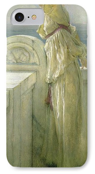 Hopeful IPhone Case by Sir Lawrence Alma-Tadema