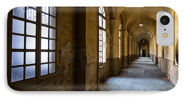 Hopelessly In Hope - Abandoned Mental Institution IPhone Case by Dirk Ercken