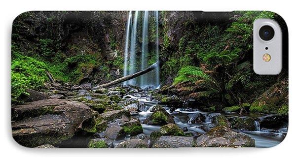 Hopetoun Falls IPhone Case by Mark Lucey