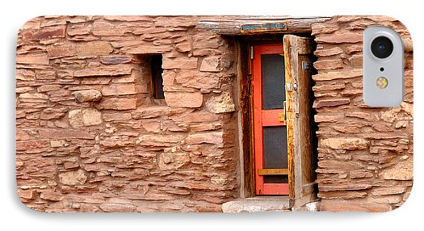 Hopi House Door Phone Case by Julie Niemela
