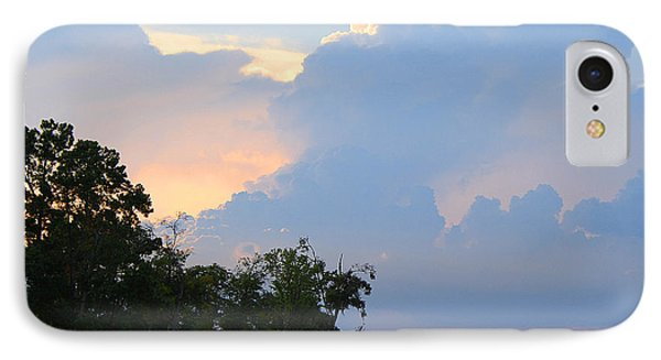 IPhone Case featuring the photograph Hoping For An Evening Shower by Roena King