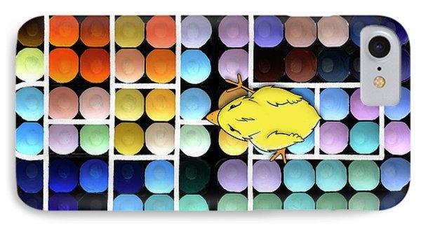 Hopscotch Charlie - Chick Hatchery Pop Art IPhone Case