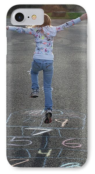 IPhone Case featuring the photograph Hopscotch Queen by Richard Bryce and Family