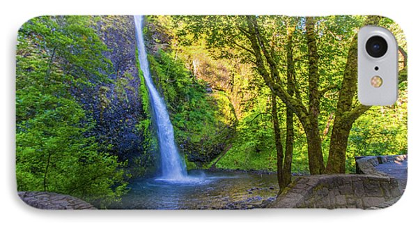 IPhone Case featuring the photograph Horesetail Falls by Jonny D