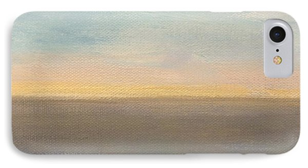 IPhone Case featuring the painting Horizon Aglow by Kim Nelson