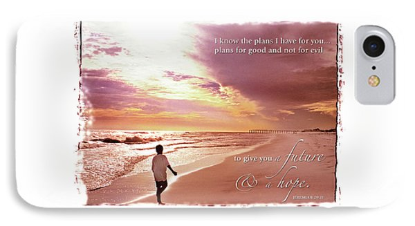 Horizon Of Hope IPhone Case by Marie Hicks
