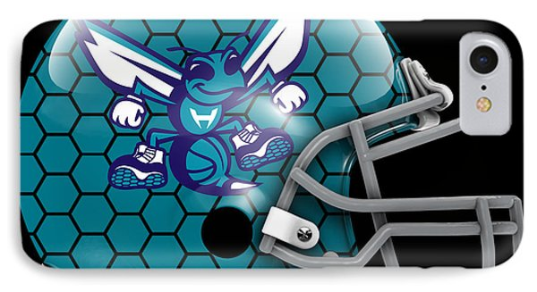 Hornets What If Its Football IPhone Case by Joe Hamilton