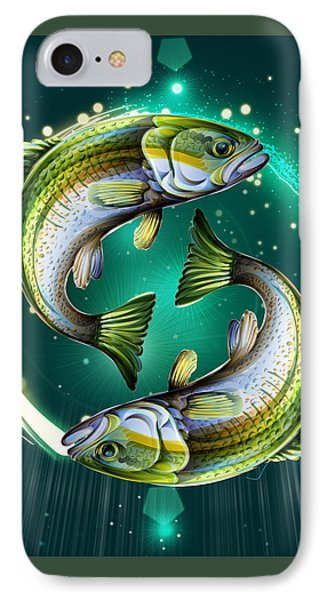 Horoscope Signs-pisces IPhone Case