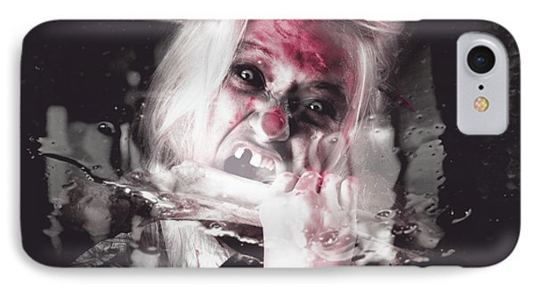 Horror Fast Food. Drive Thru Zombie Apocalypse IPhone Case by Jorgo Photography - Wall Art Gallery