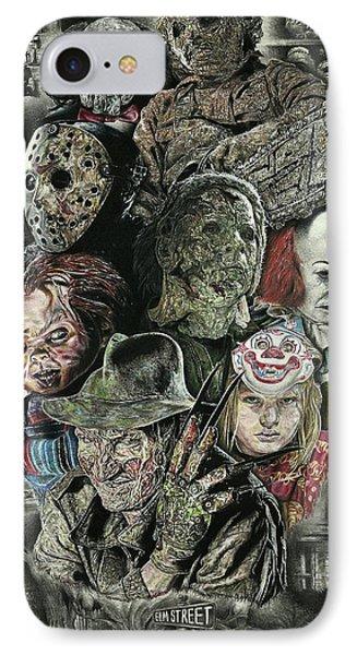 Horror Movie Murderers IPhone 7 Case