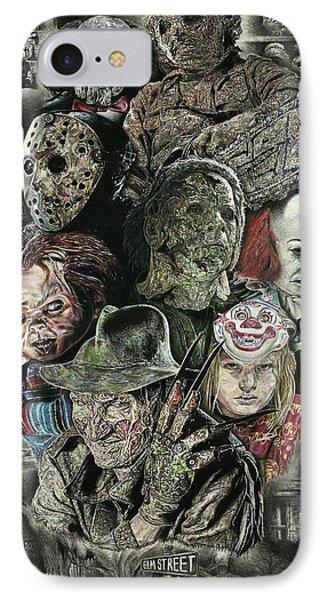 Horror Movie Murderers IPhone Case