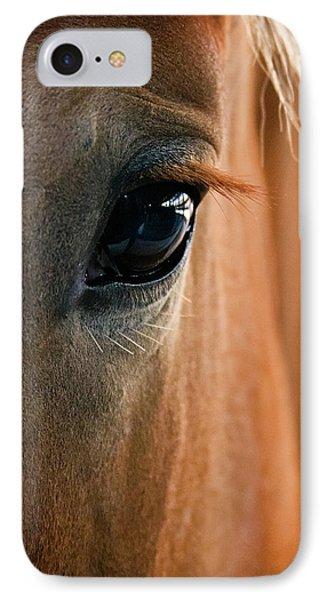 Horse Eye IPhone Case by Adam Romanowicz