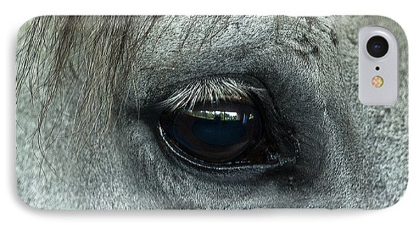 Horse Eye Phone Case by John Greim