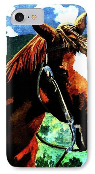 Horse Phone Case by Farah Faizal
