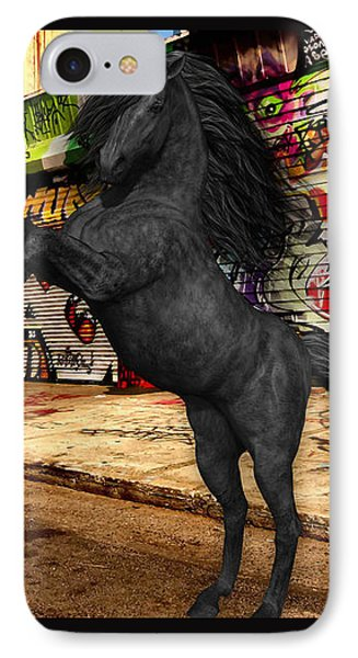 Horse Graffiti Art IPhone Case