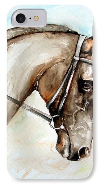Horse Head IPhone Case by Leyla Munteanu