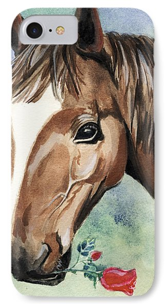 Horse In Love IPhone Case