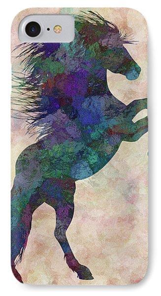 Horse IPhone Case by Jack Zulli