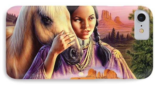 Horse Maiden Phone Case by Andrew Farley