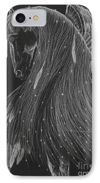 Horse Of A Thousand Stars Phone Case by Louise Green