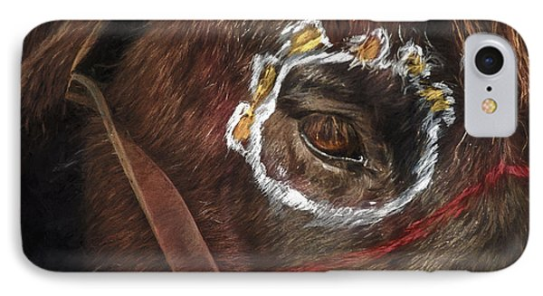 Horse Of War IPhone Case by F Leblanc