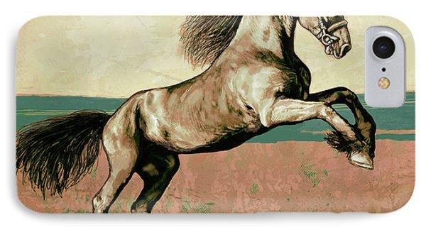 Horse Pop Art Poser IPhone Case