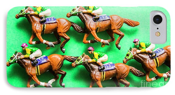Horse Racing Carnival IPhone Case by Jorgo Photography - Wall Art Gallery