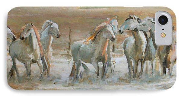 Horse Reflection IPhone Case